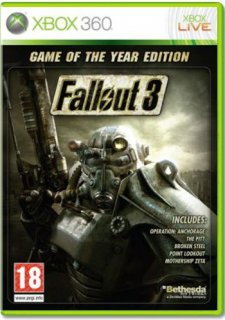 Диск Fallout 3: Game of the Year Edition (Б/У) [X360]