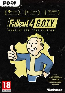 Диск Fallout 4 - G.O.T.Y. [PC]