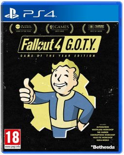 Диск Fallout 4 - G.O.T.Y. [PS4]