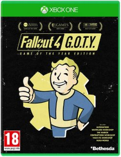 Диск Fallout 4 - G.O.T.Y. [Xbox One]