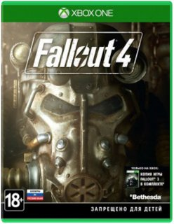 Диск Fallout 4 (Б/У) [Xbox One]
