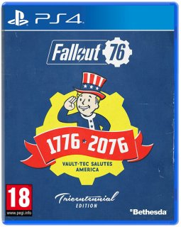 Диск Fallout 76 Tricentennial Edition [PS4]