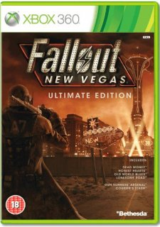 Диск Fallout New Vegas: Ultimate Edition [X360]