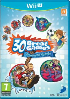 Диск Family Party 30: Great Games Obstacle Arcade [WiiU]