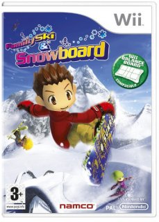 Диск Family Ski And Snowboard (Б/У) [Wii]