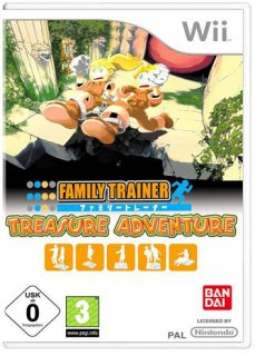 Диск Family Trainer: Treasure Adventure [Wii]