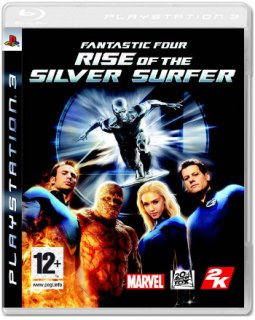 Диск Fantastic 4: Rise of the Silver Surfer (Б/У) [PS3]