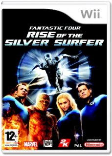 Диск Fantastic 4: Rise of the Silver Surfer [Wii]