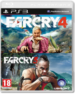 Диск Far Cry 4 + Far Cry 3 [PS3]