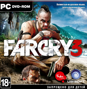 Диск Far Cry 3 [PC] (только ключ)