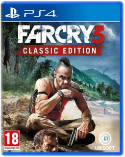 Диск Far Cry 3 Classic Edition (Б/У) [PS4]