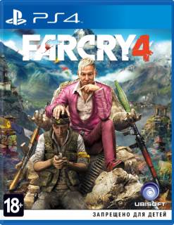 Диск Far Cry 4 [PS4]