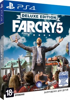 Диск Far Cry 5 - Deluxe Edition [PS4]
