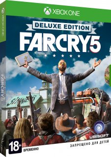 Диск Far Cry 5 - Deluxe Edition [Xbox One]