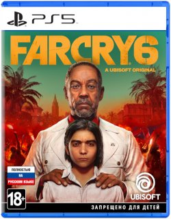 Диск Far Cry 6 [PS5]