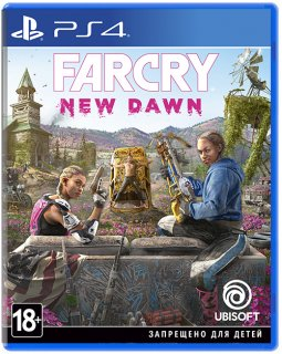 Диск Far Cry New Dawn (Б/У) [PS4]