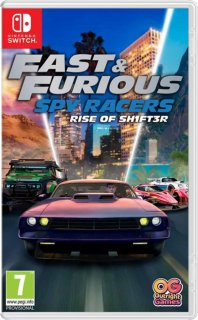 Диск Fast & Furious: Spy Racers Rise of SH1FT3R [NSwitch]