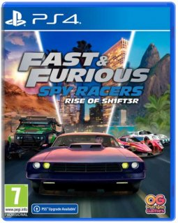 Диск Fast & Furious: Spy Racers Rise of SH1FT3R [PS4]