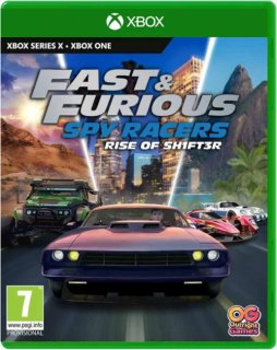 Диск Fast & Furious: Spy Racers Rise of SH1FT3R [Xbox One]