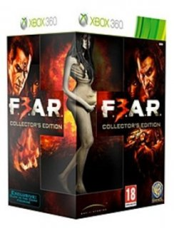 Диск FEAR 3 (F.3.A.R.) Collector's Edition (Б/У) [X360]