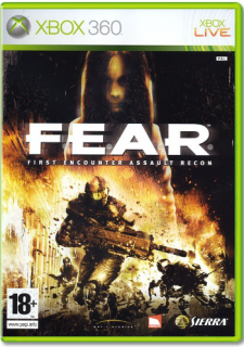 Диск F.E.A.R. (FEAR) (Б/У) [X360]