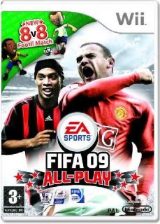 Диск FIFA 09 All-Play [Wii]
