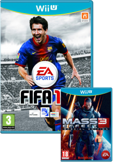 Диск FIFA 13 + Mass Effect 3 - Special Edition [Wii U]