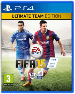 Диск FIFA 15 - Ultimate Edition [PS4]