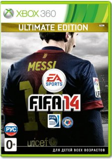 Диск FIFA 14 - Ultimate Edition [X360]
