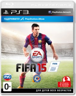 Диск FIFA 15 [PS3]