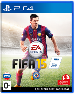 Диск FIFA 15 [PS4]