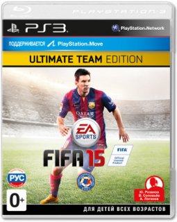 Диск FIFA 15 - Ultimate Edition [PS3]