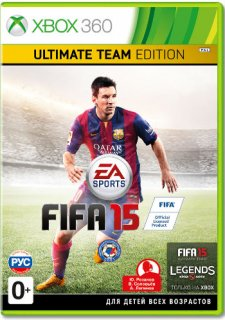 Диск FIFA 15 - Ultimate Edition [X360]