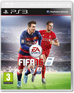 Диск FIFA 16 [PS3]