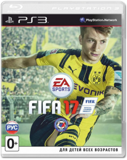 Диск FIFA 17 [PS3]
