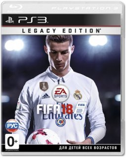 Диск FIFA 18 Legacy Edition [PS3]