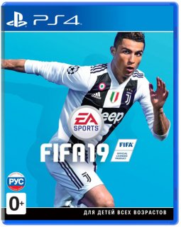Диск FIFA 19 [PS4]