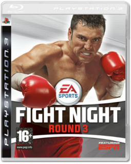 Диск Fight Night Round 3 [PS3]
