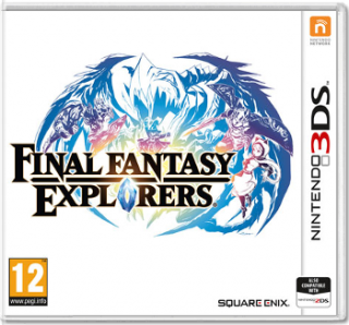 Диск Final Fantasy Explorers [3DS]