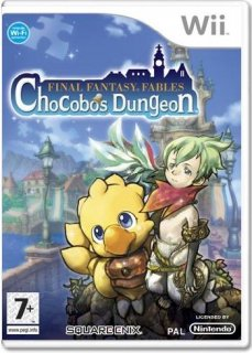 Диск Final Fantasy Fables: Chocobo's Dungeon (Б/У) [Wii]