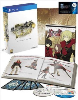 Диск Final Fantasy Type-0 HD Collector's Edition (Б/У) [PS4]
