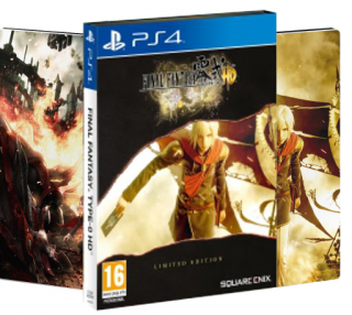 Диск Final Fantasy Type-0 HD - Limited Edition [PS4]
