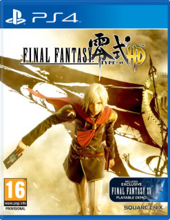 Диск Final Fantasy Type-0 HD [PS4]