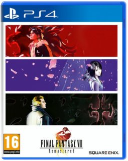 Диск Final Fantasy VIII Remastered [PS4]