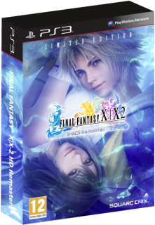 Диск Final Fantasy X / X-2 HD Remaster - Limited Edition (Б/У) [PS3]