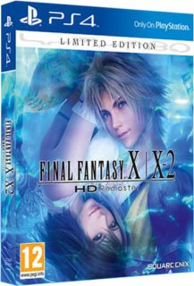 Диск Final Fantasy X / X-2 HD Remaster - Limited Edition [PS4]