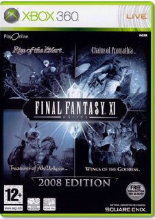 Диск Final Fantasy XI Online 2008 Edition [X360]
