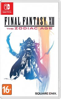 Диск Final Fantasy XII: The Zodiac Age (Б/У) [NSwitch]
