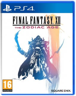 Диск Final Fantasy XII: The Zodiac Age [PS4]