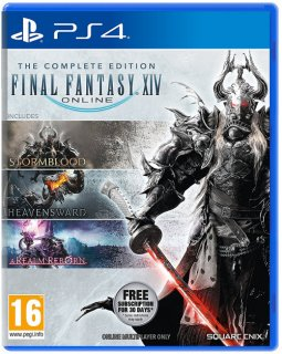 Диск Final Fantasy XIV: Complete Edition [PS4]
